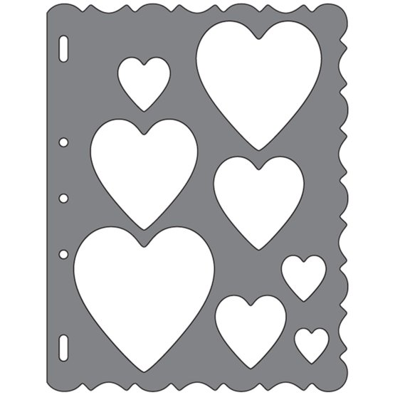 Shape Template™ - Hearts